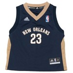 adidas™ Toddlers' New Orleans Pelicans Revolution 30 Replica Road Jersey