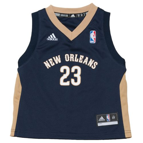 adidas Toddlers' New Orleans Pelicans Revolution 30 Replica Road Jersey