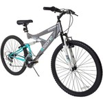 "Ozone 500® Women's Ultra Shock 26"" 21-Speed Dual-Suspension Mountain Bicycle"