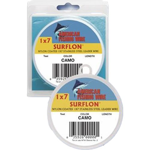 American Fishing Wire Surflon 90 lbs - 30 ft Leader Wire - view number 1