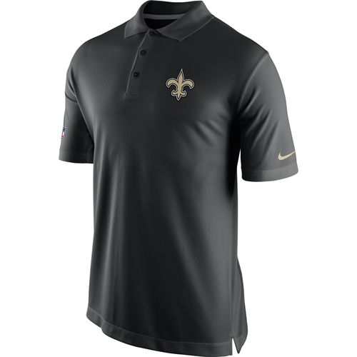 Nike Men s New Orleans Saints Staff Polo Shirt