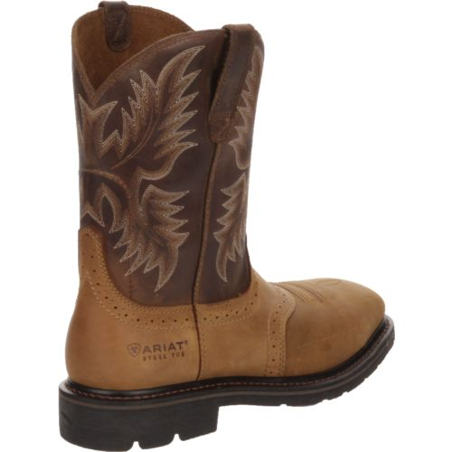 Ariat Men's Sierra Wide Square-Toe Western Wellington Work Boots - view number 3