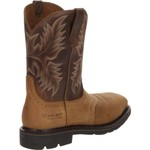Ariat Men's Sierra Wide Square Toe Western Wellington Work Boots - view number 3