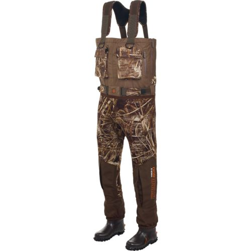Image for Game Winner® Men's Hybrid Neoprene Breathable Boot-Foot Waders from Academy