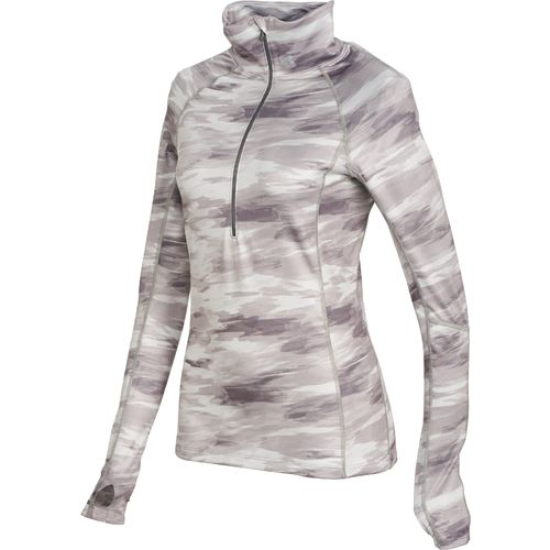 Under Armour  Women s ColdGear  Cozy Printed Half Zip Sweatshirt