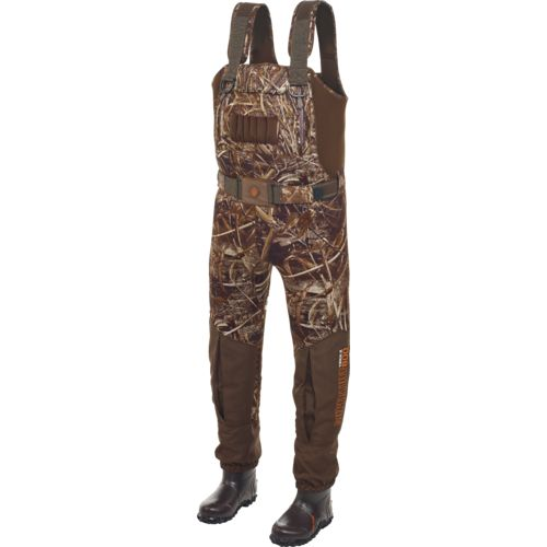 Image for Game Winner® Men's SuperTuff 800 Neoprene Boot-Foot Waders from Academy