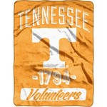 NCAA University of Tennessee College Varsity Micro Raschel Throw