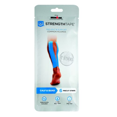 StrengthTape Adults' Kinesiology Tape Calf and Quad Taping