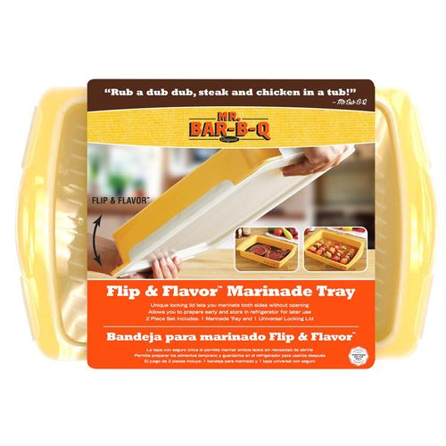 Mr. Bar-B-Q Flip and Flavor Marinade Tray
