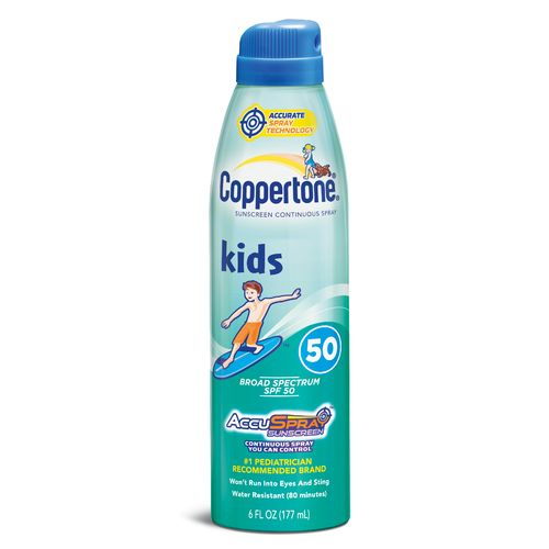 Coppertone® Sport 6 oz. C Spray SPF 50 Sunscreen