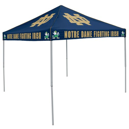 Logo™ University of Notre Dame Straight-Leg 9' x 9' Color Tent