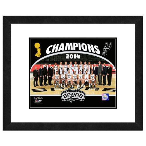 Photo File San Antonio Spurs 2014 NBA Champions 8' x 10' Photo