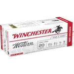 Winchester Western Target and Field Load 20 Gauge 8 Shotshells - view number 1