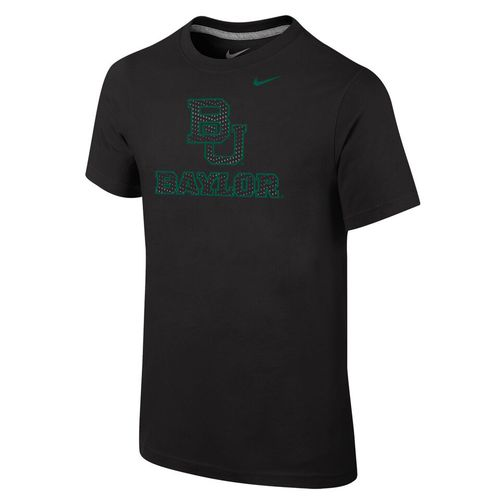 Nike Boys' Baylor University Locker Room Cotton Travel T-shirt - view number 1