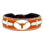 GameWear University of Texas Team Color Football Bracelet