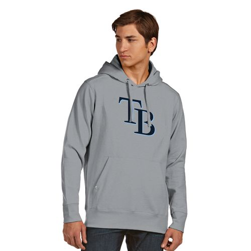 Antigua Men's Tampa Bay Rays Signature Pullover Hoodie