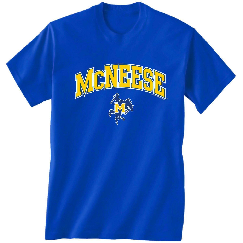 New World Graphics Men's McNeese State University Arch