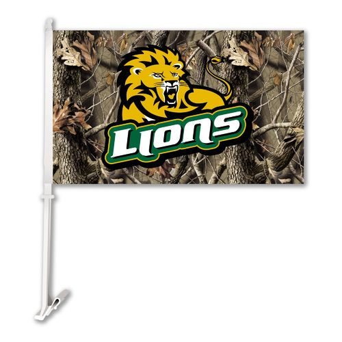 BSI Southeastern Louisiana University Realtree 2-Sided Car Flag