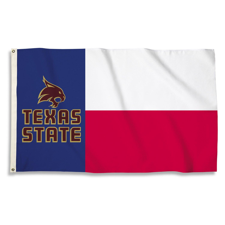 BSI Texas State University Texas Motif Flag