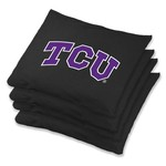 Wild Sports Texas Christian University Regulation Bean Bags 4-Pack