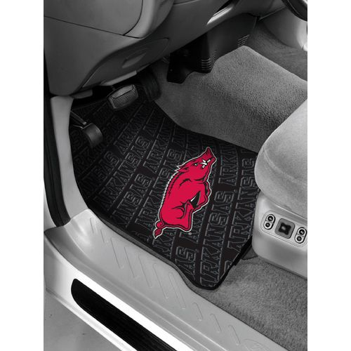 The Northwest Company University of Arkansas Car Floor Mats 2-Pack