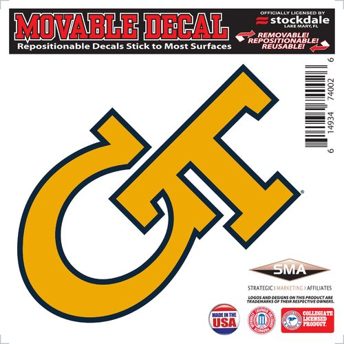 Stockdale Georgia Tech 6' x 6' Decal