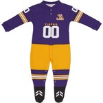 Glitter Gear Toddlers' Louisiana State University Long Sleeve Footy Suit