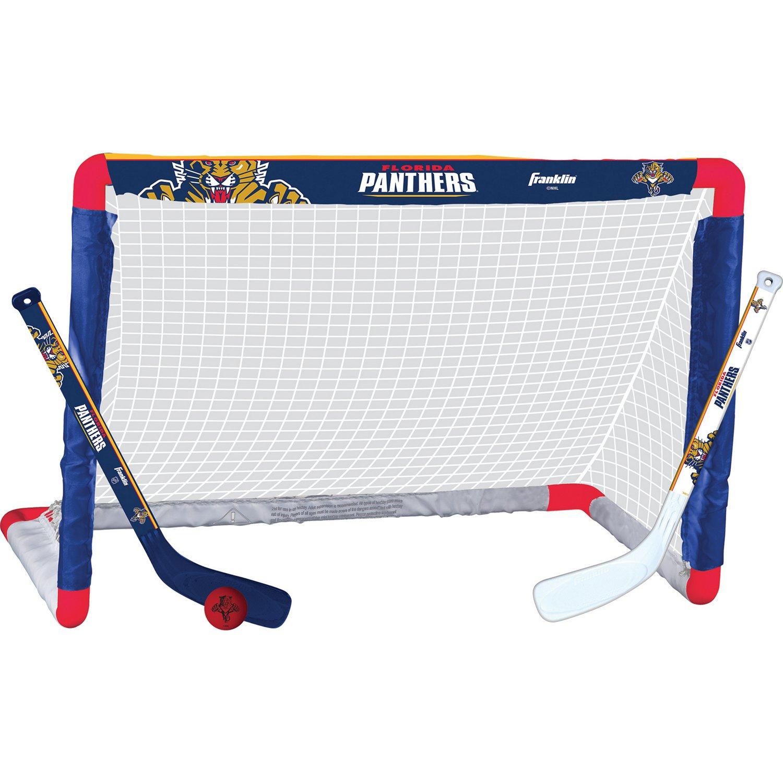 Franklin Florida Panthers Mini Hockey Goal Set