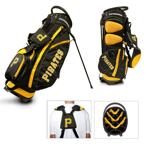 Team Golf Pittsburgh Pirates Fairway 14-Way Stand Golf Bag - view number 1