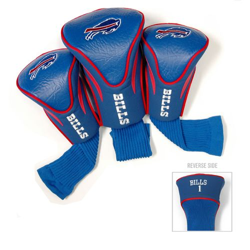 Team Golf Buffalo Bills Contour Sock Head Covers 3-Pack