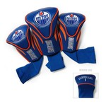 Team Golf Edmonton Oilers Contour Sock Head Covers 3-Pack - view number 1