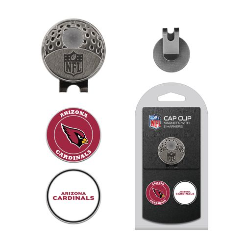 Team Golf Arizona Cardinals Marker Cap Clip - view number 1
