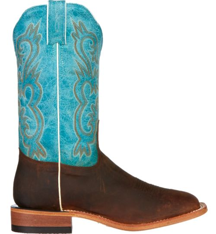 Tony Lama Women's Worn Goat Americana Western Boots