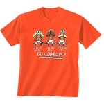 New World Graphics Toddlers' Oklahoma State University No Evil T-shirt