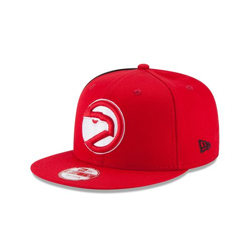 New Era Adults' Atlanta Hawks 9FIFTY Panel Pride Cap