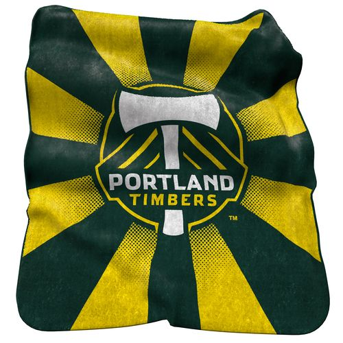 Logo™ Portland Timbers Raschel Throw