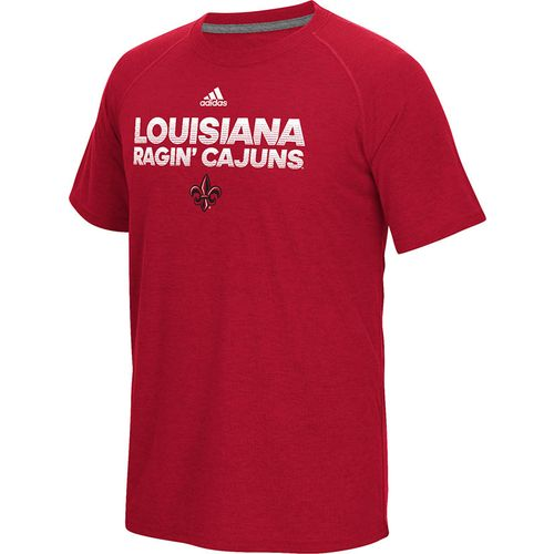 adidas Men's University of Louisiana at Lafayette Sideline Hustle Ultimate T-shirt