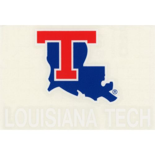 "Stockdale Louisiana Tech University 4"" x 7"" Decals"