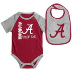Colosseum Athletics Infants' University of Alabama Rookie Onesie and Bib Set