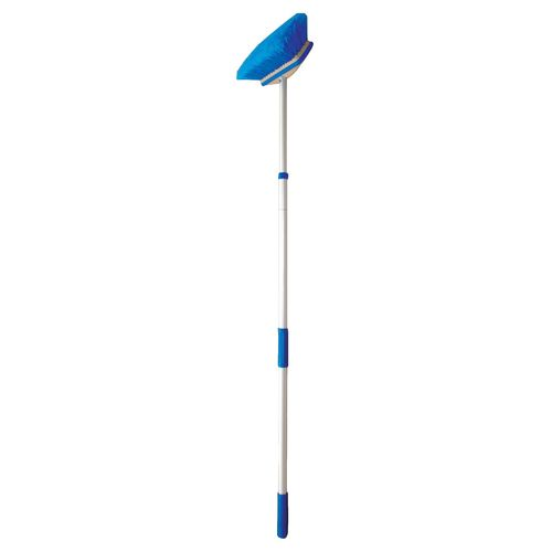 "Star Brite 3' - 6' Standard Extending Handle with 8"" Deluxe Brush"