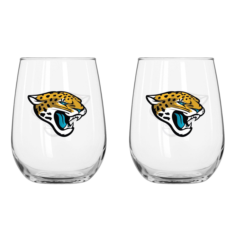 Boelter Brands Jacksonville Jaguars 16 oz. Curved Beverage
