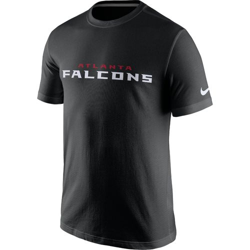 Nike Men's Atlanta Falcons Cotton Essential Wordmark T-shirt