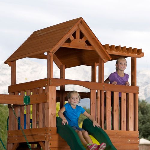 Backyard Discovery™ Thunder Ridge Wooden Swing Set - view number 4