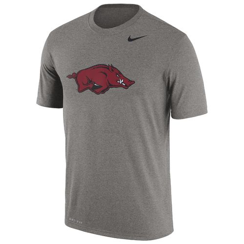 Nike Men's University of Arkansas Legend Dri-FIT Short Sleeve T-shirt - view number 1