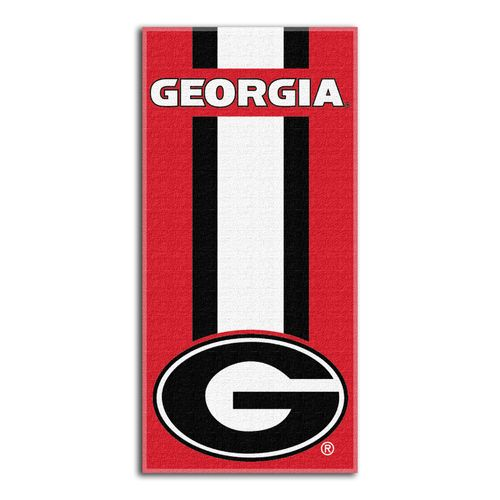 The Northwest Company University of Georgia Zone Read Beach Towel