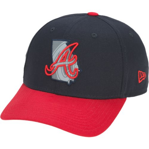 New Era Men's Atlanta Braves State Flective 39THIRTY Cap