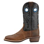 Ariat Men's Heritage Roughstock Wide Square-Toe Boots