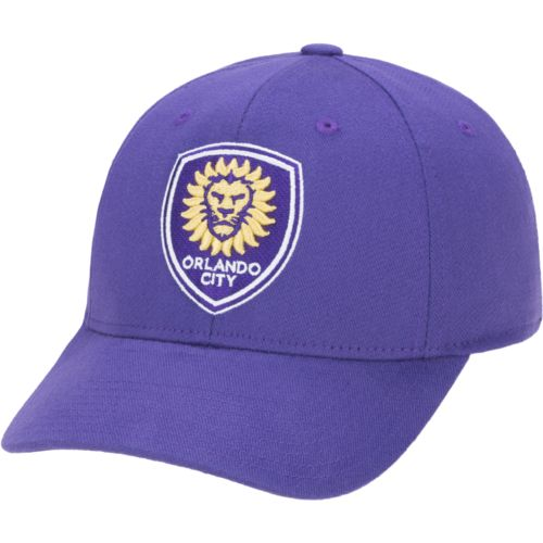 adidas Men's Orlando City SC Basic Structured Flex Cap - view number 1