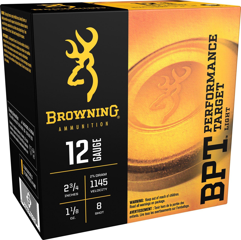 Browning Performance Target Sporting Loads 12 Gauge Shotshells