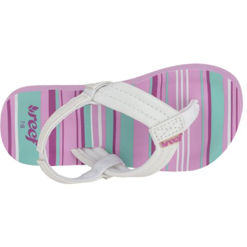 Reef™ Girls' Little Ahi Sandals - view number 4